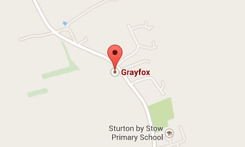Map to Grayfox Swimming Pools