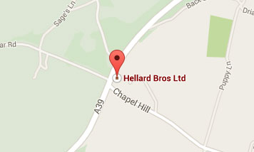 Map to Hellard Bros