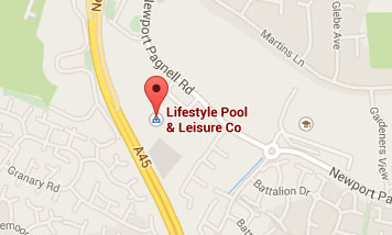 Map to Lifestyle Pool & Leisure Company