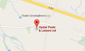 Map to Oyster Pools & Leisure