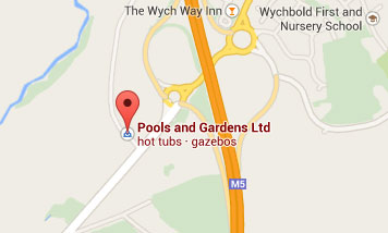 Map to Pools and Gardens Ltd